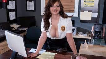 Jessica Roberts in 'Campus Cop'