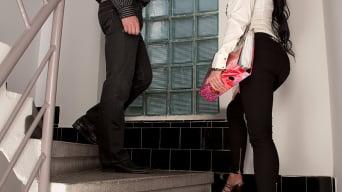 Patty Michova in 'Staircase To Big Boob Heaven'
