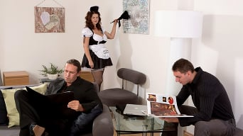 Vicky Soleil in 'Tag-Team Fuck For A French Maid'